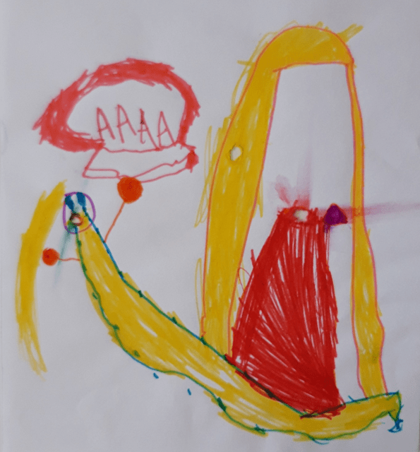 Djevojčica., 4,3 god.: